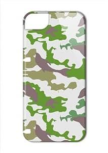 Case Fun Apple iPhone 5 / 5S Case - Vogue Version - 3D Full Wrap - Hidden Animals