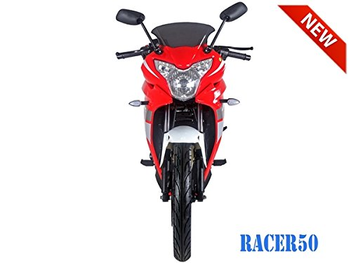 SmartDealsNow 49cc Sports Bike Racer50 Automatic Bike Racer 50 Motorcycle by TAO