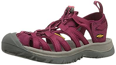 KEEN Women's Whisper Athletic and Outdoor Sandals, Red (Beet Red/Honeysuckle), 6 AU/US