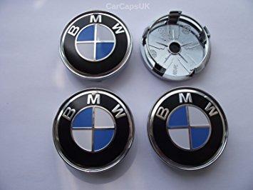 4 tapones Tapacubos para modelos BMW 60 mm Serie 1 2 3 4 5 6 7 m z X Tachuelas Círculos Aleación: Amazon.es: Coche y moto