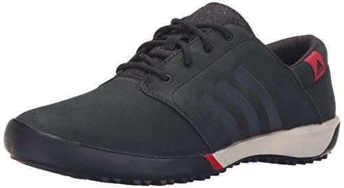 adidas Outdoor Women's Daroga Sleek Hiking Shoe, Black/Power Red/Clear Brown, 9 M US