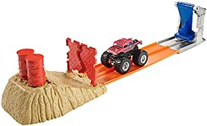 Hot Wheels Monster Jam Brick Wall Breakdown Trackset