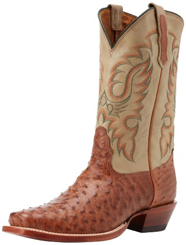 Nocona Boots Men's MD6512 Boot - Cognac Waxy - 7 2E US