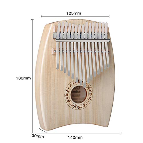 MG.QING 15-Key Kalimba Spruce G-Tone Acoustic Thumb Piano Finger Instrument Gift by MG.QING (Image #6)