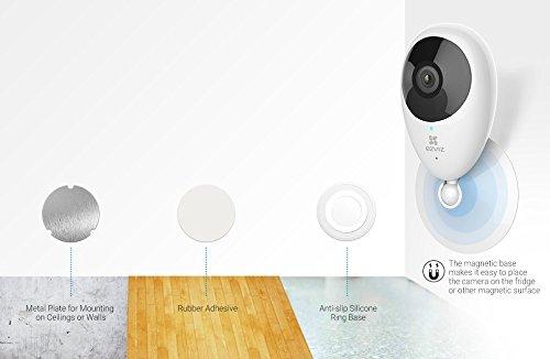 EZVIZ Mini O 720p HD Wi-Fi Home Video Monitoring Security Camera, Works with Alexa