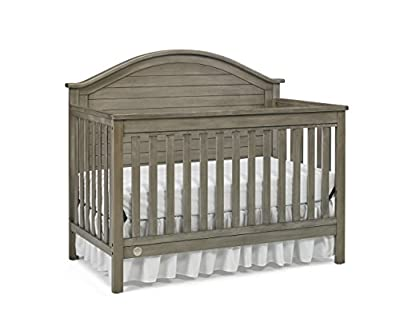 Fisher-Price Haley 4-in-1 Convertible Crib, Vintage Grey