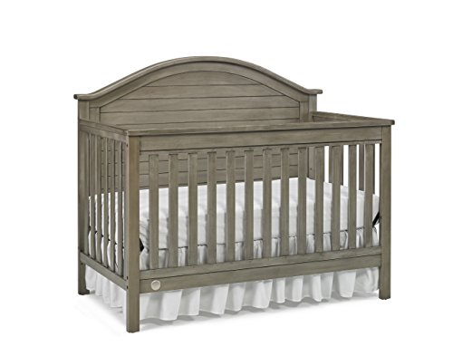 Fisher-Price Haley 4-in-1 Convertible Crib, Vintage Grey by Fisher-Price
