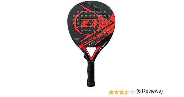Pala de pádel Dunlop Impact X-treme Red: Amazon.es: Deportes y ...
