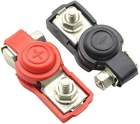 YeBetter 1 Paire de Bornes de Batterie Connecteur de Pince pour Cable de Connecteur Rapide de V/éHicule Automobile R/éSistant