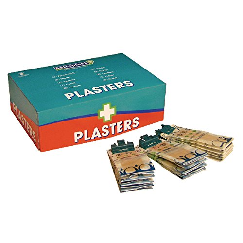 Wallace Cameron 1204010 Plasters, Wash Proof and Pilfer Proof (Pack of 150) WAC10422
