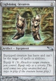 - Magic: the Gathering - Lightning Greaves - Mirrodin - Foil
