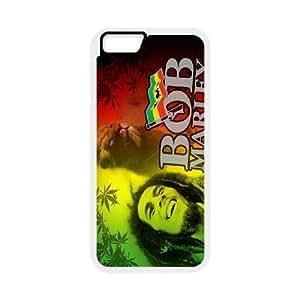 Bob Marley DIY case For Custom Case iPhone 6 Plus 5.5 Inch QW7403084