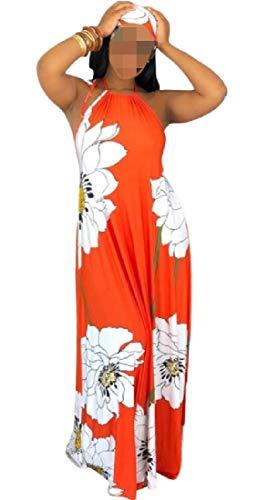 See the TOP 10 Best<br>Scarf Print Asymmetrical Halter Dress