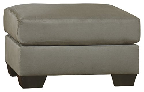 Ashley Furniture Signature Design - Darcy Ottoman - Ultra Soft Upholstery - Contemporary - - Chair Ottoman Mission