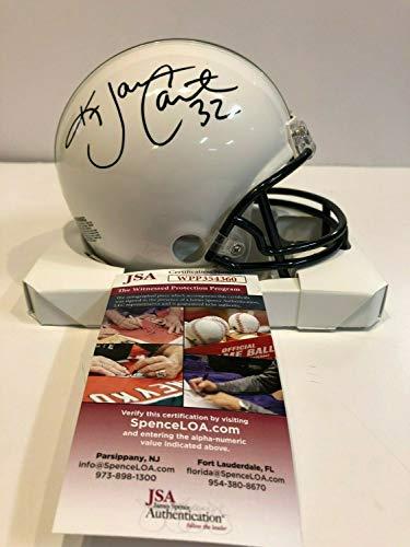 Ki-Jana Carter Autographed Signed Penn State Mini Helmet Memorabilia JSA