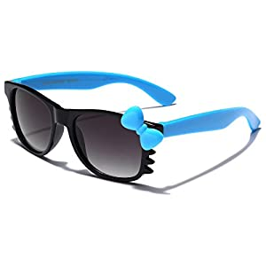 Cute Hello Kitty Baby Toddler Sunglasses Age up to 4 years - Black & Blue