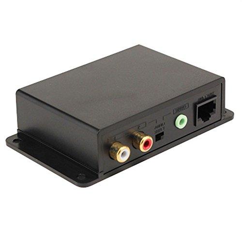Cat5e/6 Mini Extender - Element-Hz Stereo Audio Over Cat5e/6 Extender
