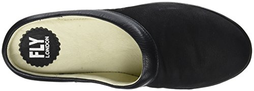 Fly Beak809fly Mules black Noir Femme London PPzrSqA