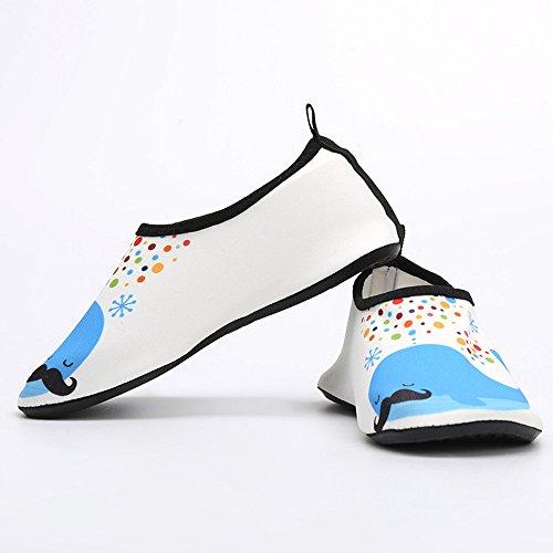Piscina De Aire Niños Respirable Azul Libre Playa Surf Niña Zapatos Calcetines Yoga Imprimiendo Agua Barefoot Natación Descalzo OTfcwWxqdS