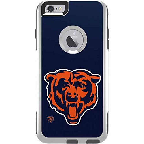 (Skinit Chicago Bears Large Logo OtterBox Commuter iPhone 6 Plus Skin for CASE - Officially Licensed NFL Skin for Popular Cases Decal - Ultra Thin, Lightweight Vinyl Decal Protection)