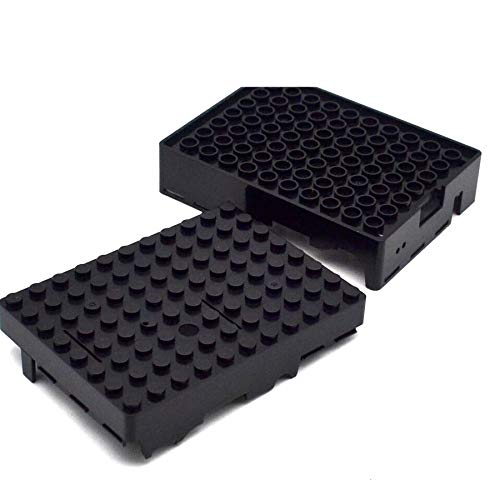 Raspberry Pi 3 B Shell Official Origin Raspberry Pi3 /& Pi2 Generation of Black Blocks B