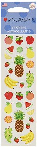 Mrs Grossman Stickers, Fruits