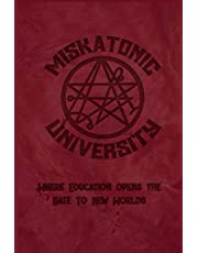 """Miskatonic University Where Education Opens The Gate To New Worlds: 2021 Daily Calendar With Goal Setting Section and Habit Tracking Pages, 6""""x9"""""""