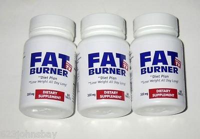 Brûleur de graisse, perdre du poids toute la journée! Comme on le voit à la télé 3 PACK 180 Tabs