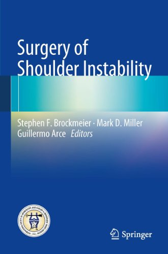 Surgery of Shoulder Instability Pdf