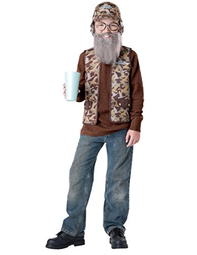 Duck Dynasty Uncle Si Child Costume, Size -