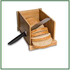 Bamboo Bread Slicer Guide By