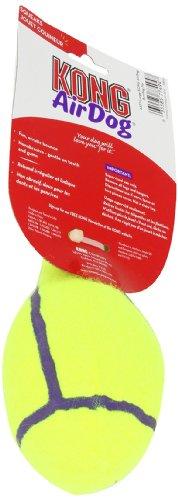 KONG Air Squeaker Bowling Pin Dog Toy, Large, Yellow
