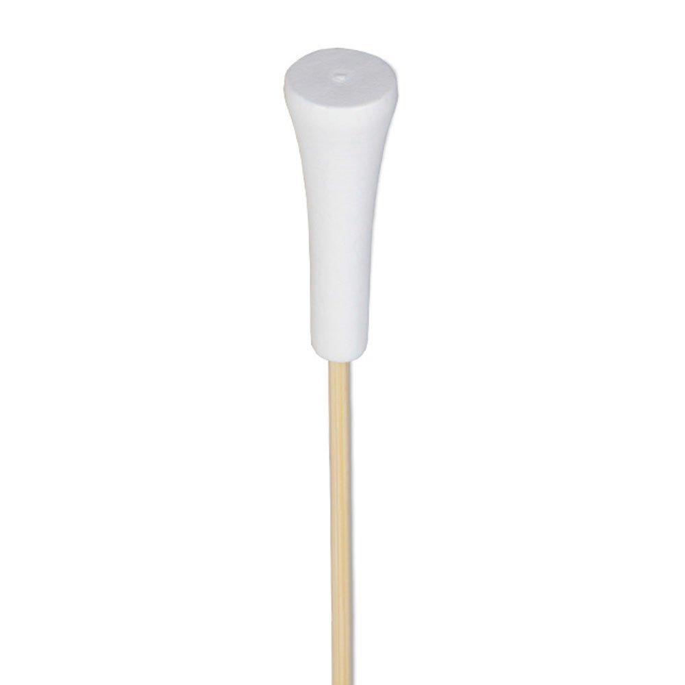 White Golf Tee Appetizer or Sandwich Picks / Swizzle Stick - 4 1/2'' - 100ct