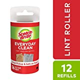 Scotch-Brite Lint Roller Refill, 56 Sheets/12-Pack (672 Sheets Total)
