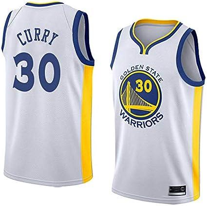 K&P Sports Camiseta Stephen Curry Golden State Warriors Blanco,Camiseta Stephen Curry Association Edición Swingman: Amazon.es: Deportes y aire libre