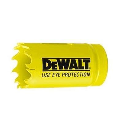 DEWALT D180016 1-Inch Standard Bi-Metal Hole Saw