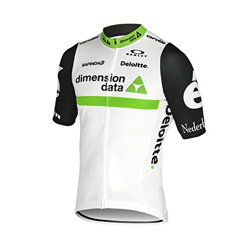 OAKLEY TEAM DIMENSION DATA OFFICIAL PROFESSIONAL CYCLING JERSEY XL EXTRA - Bicycle Oakley