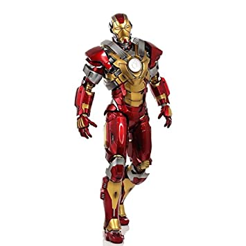 Beautiful Hot Toys 1:6 Scale Iron Man Mark 17 Heartbreaker Figure