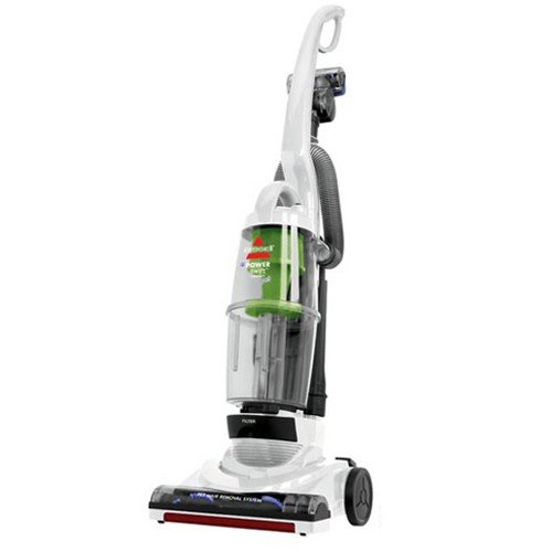 BISSELL PowerSwift Pet Compact Bagless Upright Vacuum, White, 13H8K For Sale
