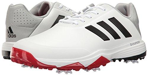 Adidas écarlate blanc Bounce 40 Large Homme Blanc Eu Adipower noir Prw4UqPOB