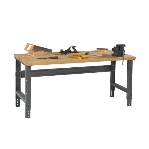 - Tennsco Wood Top Workbench 72