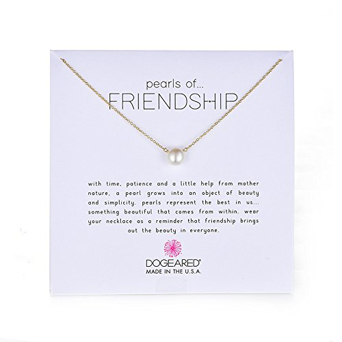 "Dogeared ""Pearls of  Friendshi"