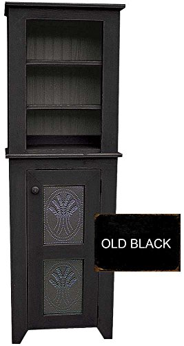 Sawdust City Punched Tin Hutch (Old Black)