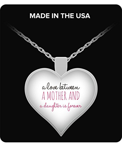 Mother and daughter - Heart Necklace - L - Wing Silver Coin Shopping Results