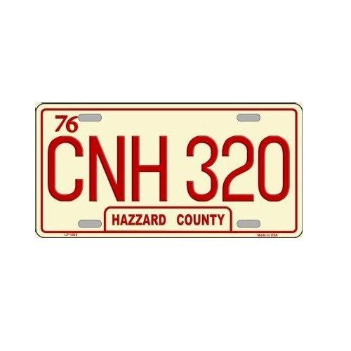 Novelty CNH 320 Hazzard County License Plate Smartblonde Inc