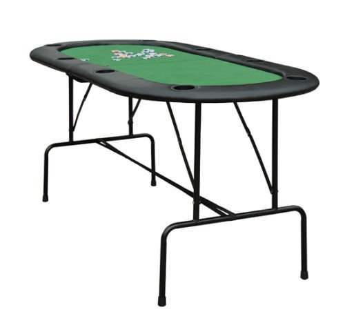 Poker Blackjack and Game Table, 8 Player Folding Holders 73