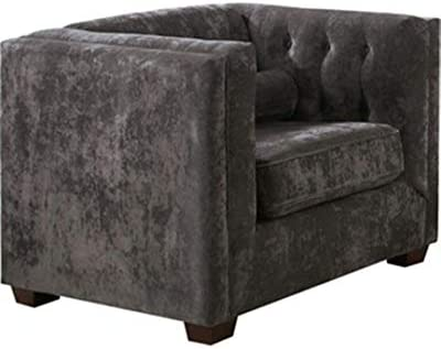 Coaster Home Furnishings Alexis Tufted Back Chair Almond