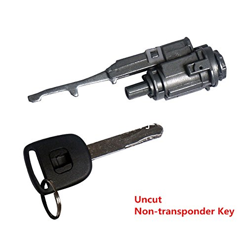 Honda Transponder - Dade Ignition Switch Cylinder Lock With Uncut Non-transponder Key For Honda & Acura Vehicles 2003-2015