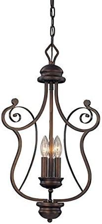 Millennium Three Light 1153-RBZ Pendants, Bronze Dark