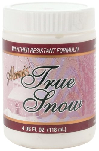 Aleene's 017754146410 True Snow 4oz, White